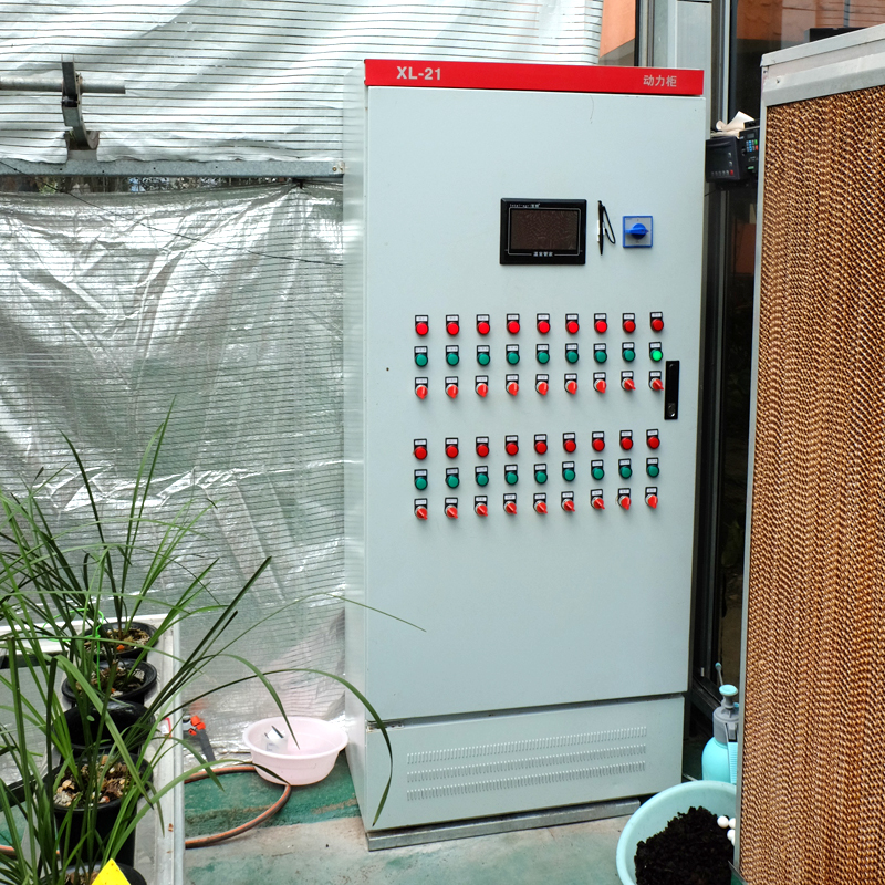 Multi-Span Film Greenhouse Intelligent Control System for Tomato