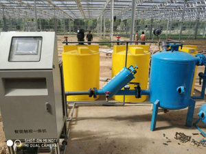 Energy Water Saving Automatic Intelligent Fertilizer System for Greenhouse Crops