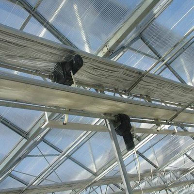 High quality inside shade System Commercial Multi-span Agricultural Hydroponic Greenhouse for Vegetables/flowers/fruits/garden/tomato/crop/corn