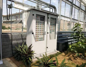 Intelligent Greenhouse Monitor System Climate Control