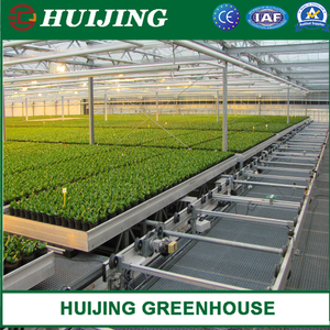 Greenhouse Nursery Ebb and Flow Rolling Bench Food Grade