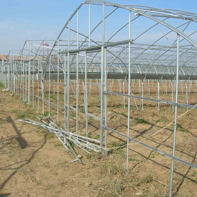 Greenhouse GI Steel Structure with Long Service Life